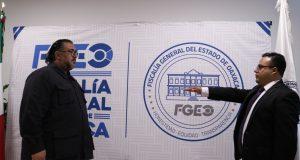 Designa Fiscal General a Alejandro Ramírez Hernández como nuevo Vicefiscal General Zona Centro de la FGEO