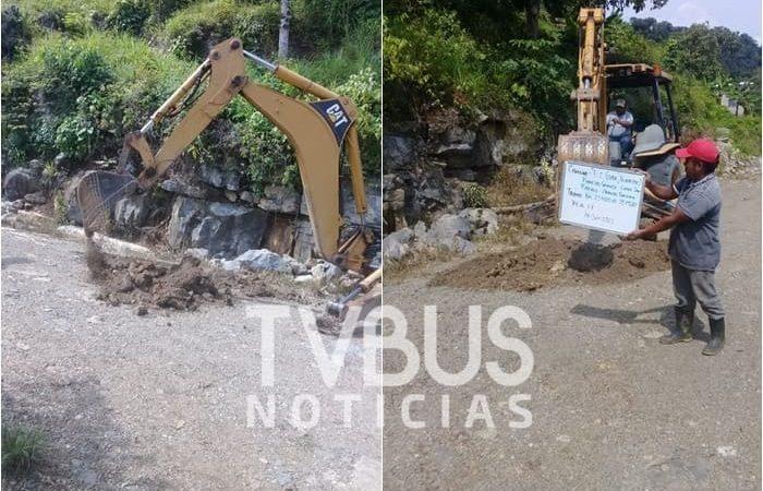 Pobladores de la parte alta de Valle Nacional, denuncian estancamiento de proyecto carretero
