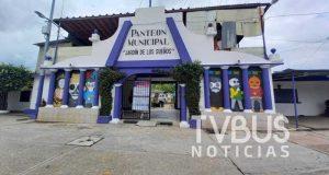 Apertura de panteones en Tuxtepec, que se mantenga hasta el 2 de noviembre: Ciudadano