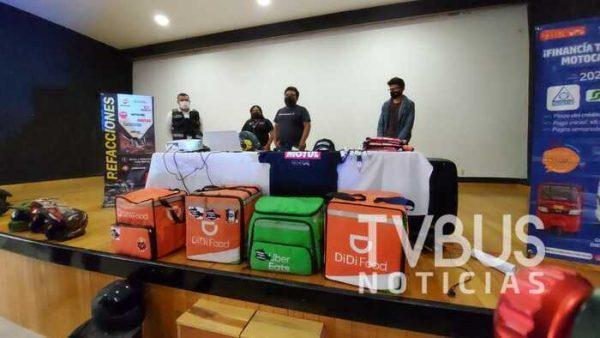 """Repartidores de Oaxaca denuncian a """"repartidores piratas"""" que cometen asaltos"""