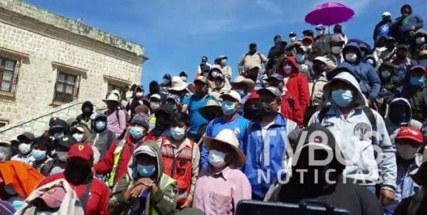 Trabajadores del sindicato 3 de Marzo confrontan a su dirigencia, siguen sin ponerse de acuerdo